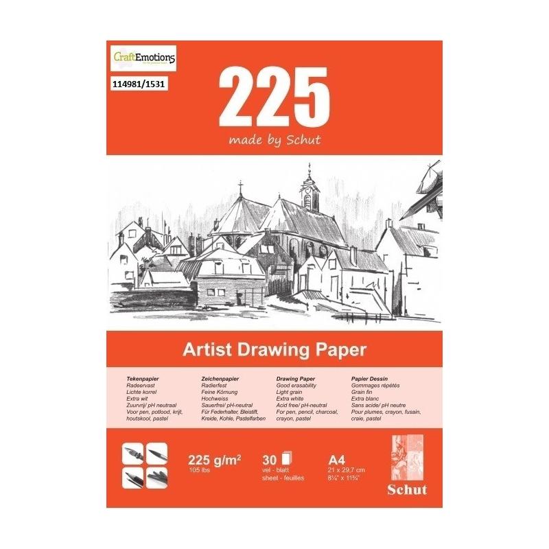 Tekenpapier A4 225 g/m2