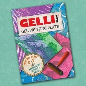 """Gel Printing Plate 5"""" x 7"""""""