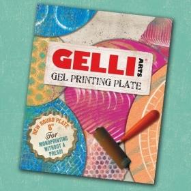"""Gel Printing Plate Round 8"""""""