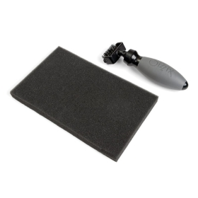 Die Brush & Foam Pad
