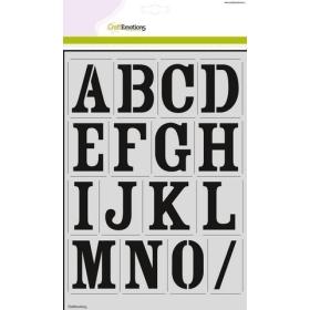 Alfabet Vintage A4