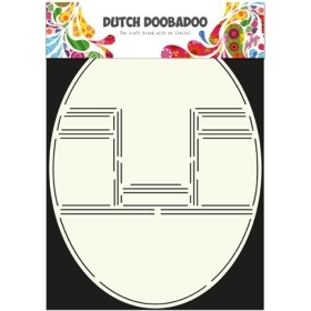Pop Up Card Oval
