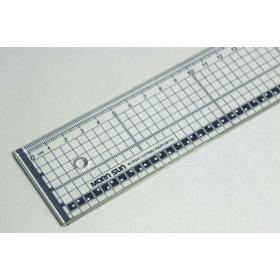 Snijliniaal Transparant 40 cm