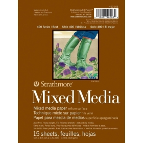 Mixed Media Paper 15.2 x 20.3 cm