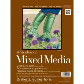 Mixed Media Paper 22.9 x 30.5 cm