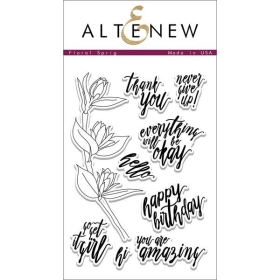 Floral Sprig Clear Stamps