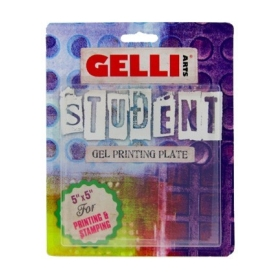 "Gel Printing Plate Student 5"" x 5"""