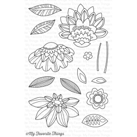 Fancy Flowers Stamps