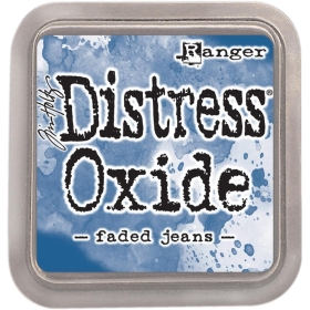 Distress Oxide Faded Jeans ( Leverbaar Medio Maart )