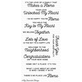 No Place Like Home Stamps