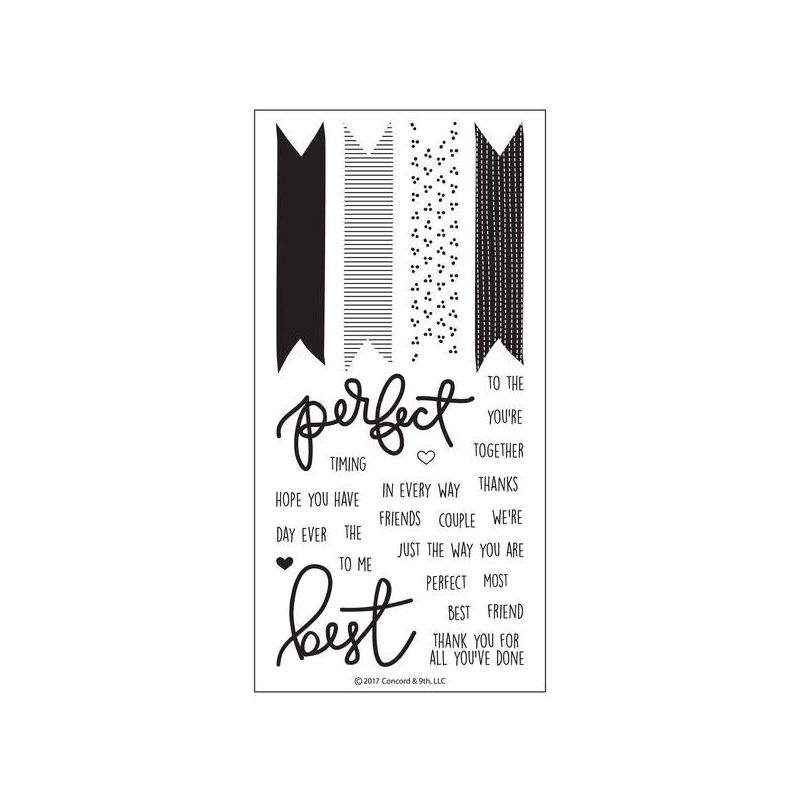 Best Banners Clearstamps