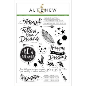 Happy Dreams Clear Stamps