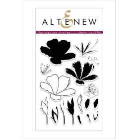 Springtime Azalea Clear Stamps