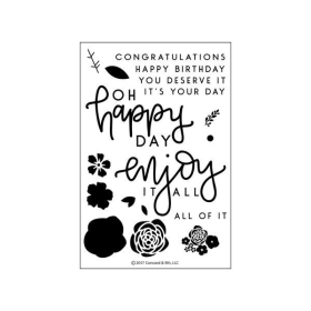 Enjoy It All Clearstamps
