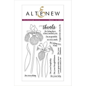 Enchanted Iris Clear Stamp