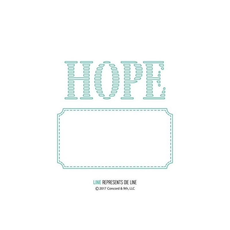 Hope Label Dies ( Let op! Pre-order, leverbaar rond 16 juni a.s. )
