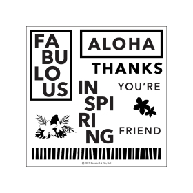 Aloha Friend ( Pre-order, leverbaar rond 14 juli )