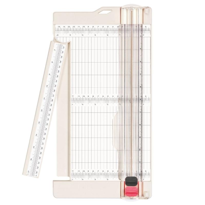 Papiersnijder + riller 30,5x15,2cm
