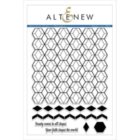 Pattern Play - Hexagon Clear Stamps