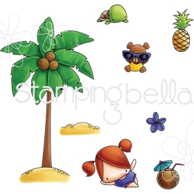 The Littles Palm Tree Set