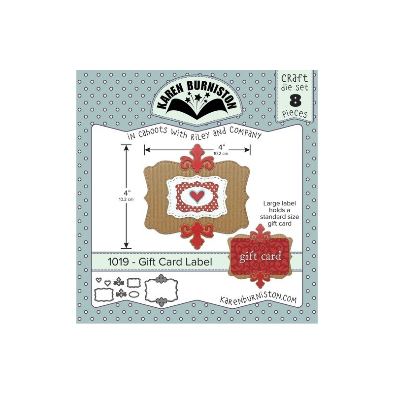 Mal 1019 - Gift Card Label
