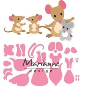 Col 1437 - Eline's Mice Family