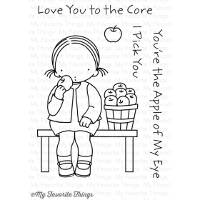 Love You To The Core Stamps