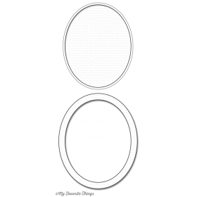 Oval Shaker Window & Frame