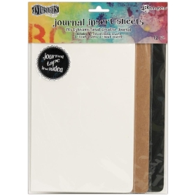 Dylusions Journal Insert Sheets Small (12 stuks)