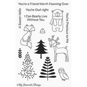 Friends in The Forest Stamps