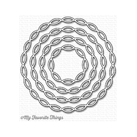Linked Chain Circle Frames