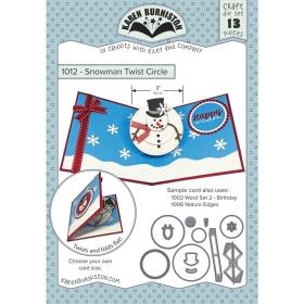 Snowman Twist Circle Pop-Up