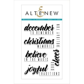December to Remember Clear Stamps