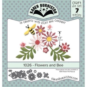 Mal 1026 - Flowers and Bee