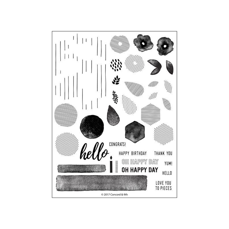Bits & Pieces Clearstamps