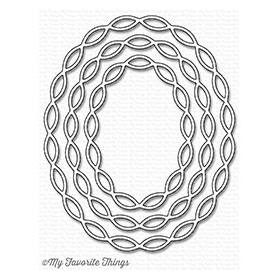 Linked Chain Oval Frames