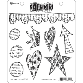 Star Struck Cling Stamps