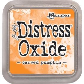Distress Oxide Carved Pumpkin