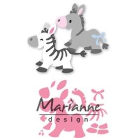 COL1447 - Eline's Zebra & Donkey