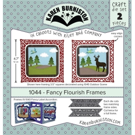 Mal 1044 - Fancy Flourish Frames