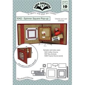 Mal 1042 - Spinner Square Pop-up