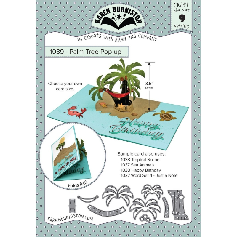 Mal 1039 - Palm Tree Pop-up