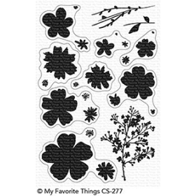 Pressed Flowers Stamps