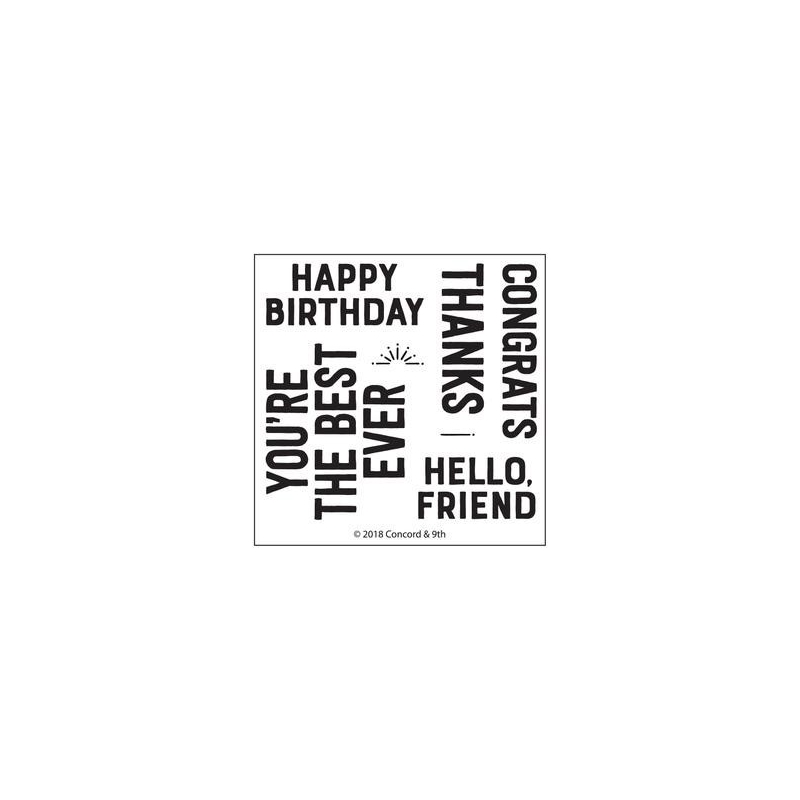Everyday Greetings Stamps