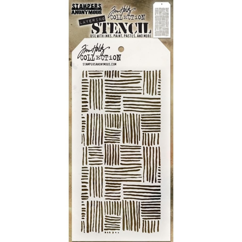 Thatched Layering Stencil
