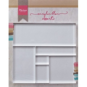 LR0013 - Acrylic Stamp Bloc Set