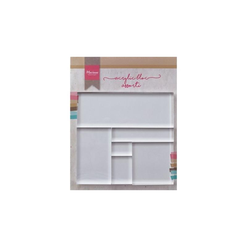 LR0013 - Acrylic Stamp Bloc Set