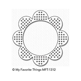Cross-Stitch Flower Frame