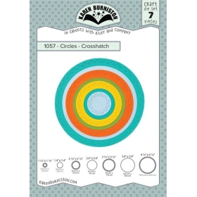 Mal 1057 - Circles - Crosshatch (Pre-order, leverbaar begin juni)