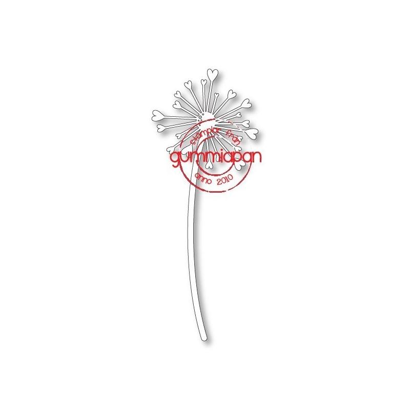 Heart Dandelion Die